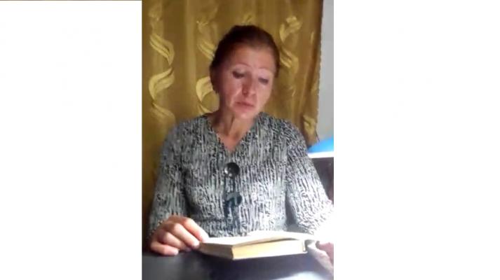 Видеопрочтение отрывка из повести Б. Васильева «А зори здесь тихие…»